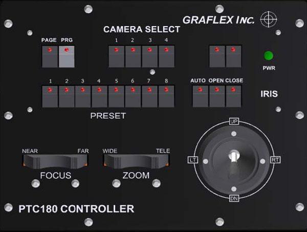 Pan Tilt Controller Rendering | Graflex Incorporated - Always on Target